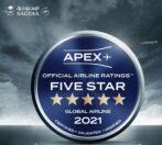 """""""السعودية"""" تحرز تصنيف الخمس نجوم في تقييم APEX"""