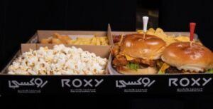 روكسي سينما تمنح ضيوفها كل ما يمكنهم تناوله من طعام أثناء مشاهدة أمتع الأفلام
