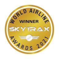 """#الخطوط_السعودية تحصد جائزة """"شركة الطيران الأكثر تقدماً في العالم"""""""